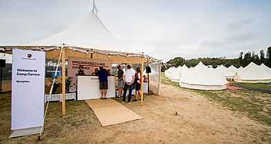 Mt Panorama Porsche Glamping