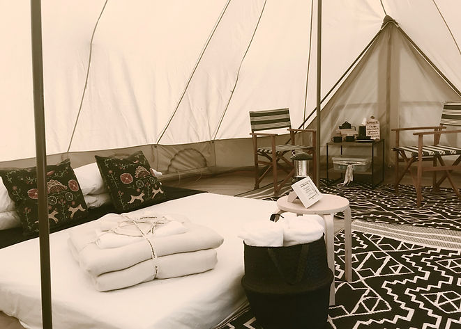 The Inspired bell tent hire