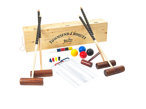 Vintage Croquet Set - 3 day hire