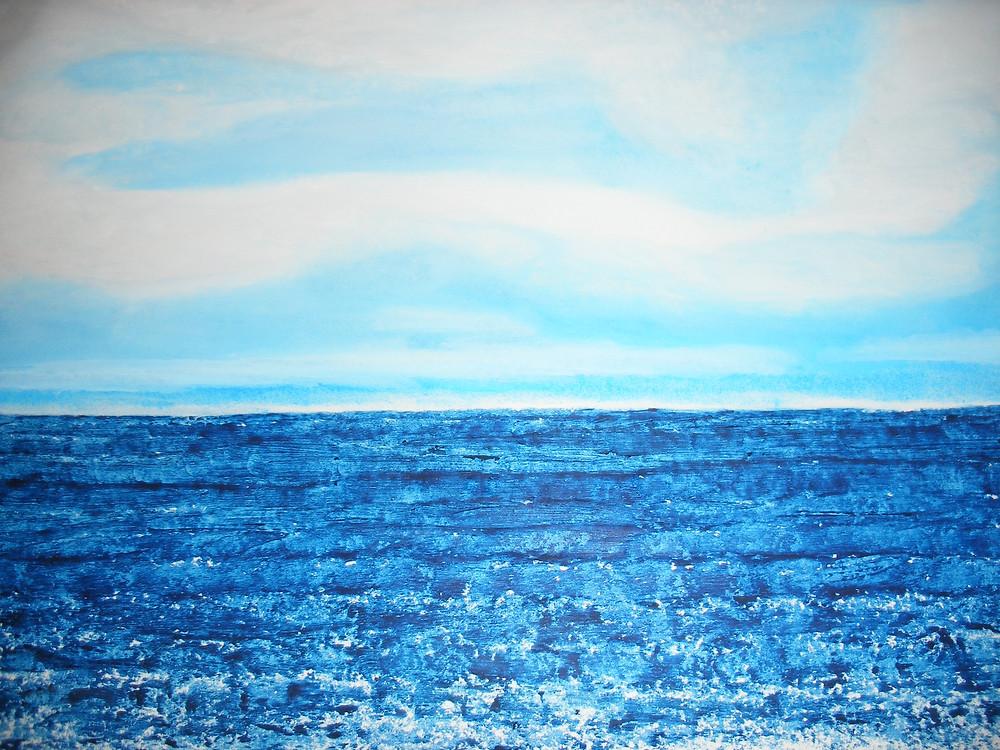 Cielo y Mar (autor: Manuel Goizueta López)
