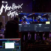 Sitema de transmissão V-mix e gravação Protools