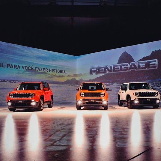 Lançamento Jeep Renegade