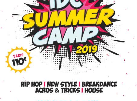 IDC DANCE SUMMER CAMP 2019