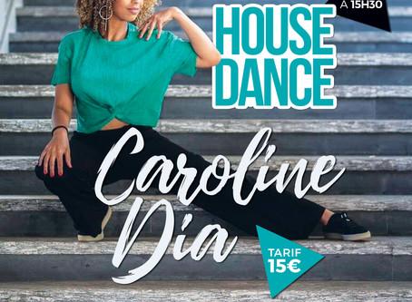 STAGE DE HOUSE DANCE avec la danseuse - CAROLINE DIA