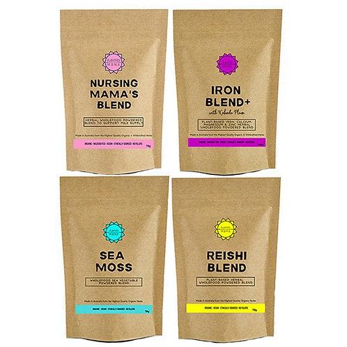 New Mama Bundle: Nursing Mama's Blend, Iron Blend+, Sea Moss and Reishi Blend