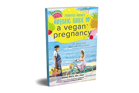 Plantfed Mama's Holistic Guide to a Vegan Pregnancy - Literary Cookbook (signed)