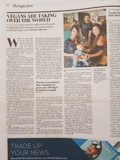 Candy Marx in Australian Financial Revie