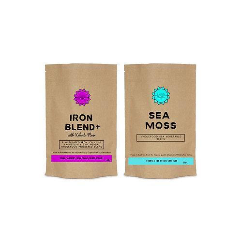 Iron Bundle: Iron Blend+ and Sea Moss
