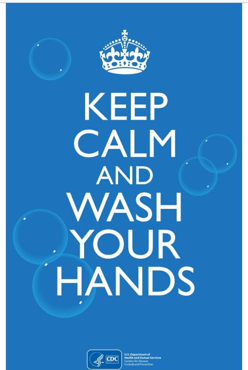 #CV904-keep calm and wash your hands