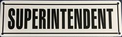 #146  10x3 .020 Alum.-Superintendent
