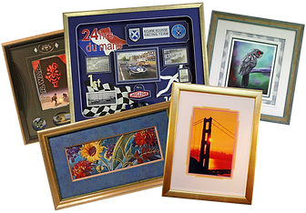 5 LEVELS OF PICTURE FRAMING