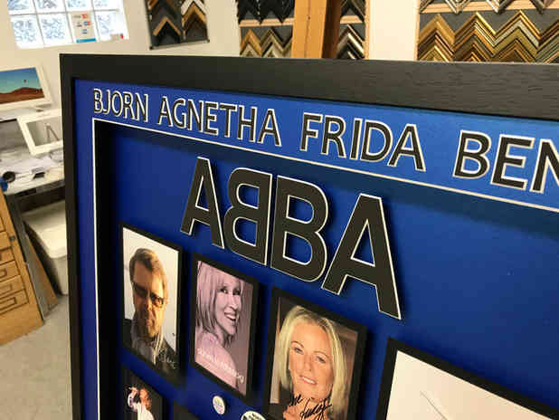 abba collection framed