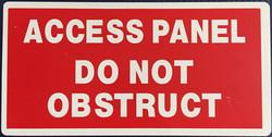 #1012   12x6 .020 Alum.-Access Panel