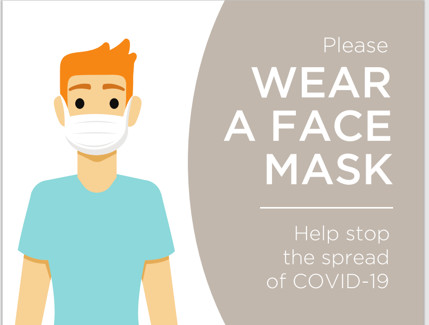 #CV930-pleas wear a face mask