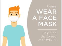 #CV930-pleas wear a face mask