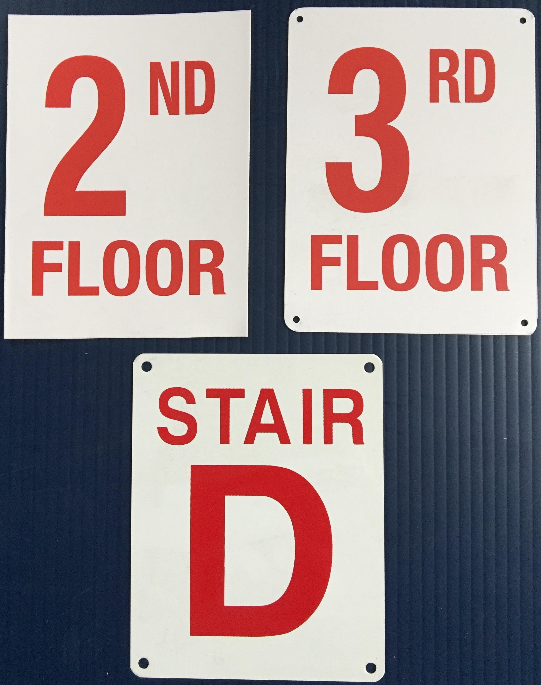 #172 Floor  #173 Stair .O2O 4.5x6 Alum