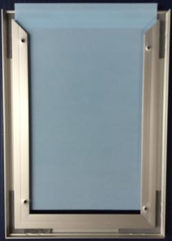 #600 6x9 Alum.-Inspection Frame-Back
