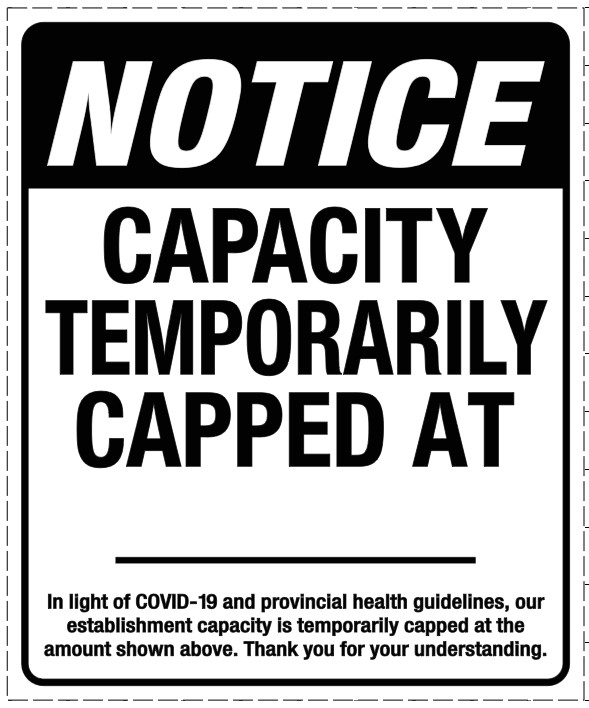 CV914 ESTABLISHMENT CAPACITY NOTICE