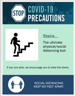 #CV965-take the stairs