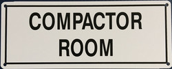 #117  10x4 .020 Alum.-Compactor Room