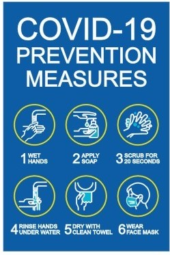 #CV989 COVID-10 PREVENTION MEASURES