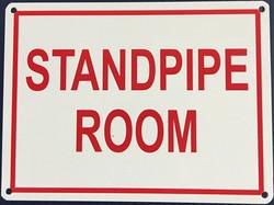 #1071  8x6 .020 Alum.-Standpipe Room