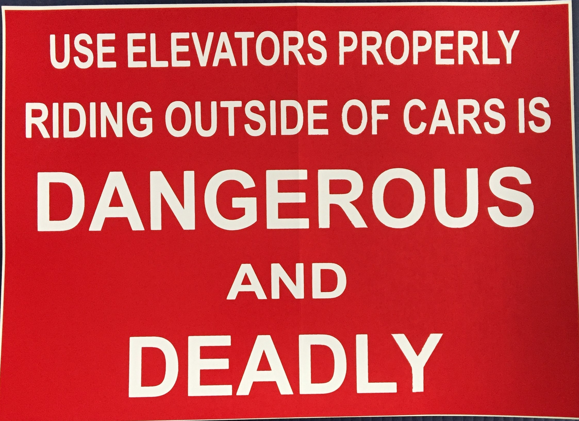 #CL202 10X8 Vinyl sticker- Dangerous and