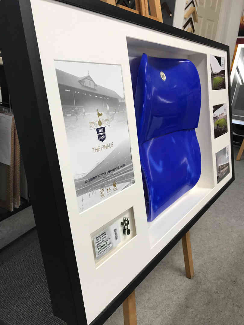 football seat framed