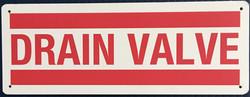 #1027  8x3 .020 Alum.-Drain Valve