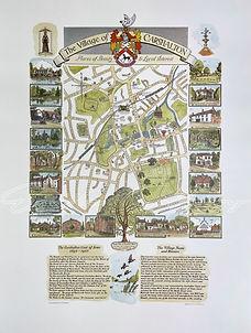 Carshalton Map Colour