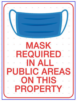 CV917  MASK REQUIRED IN ALL PUBLIC AREAS