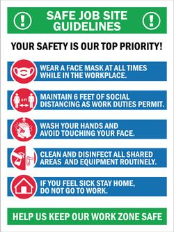 #CV936-SAFE JOB GUIDLINES