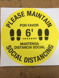 #CV1015-12X12 FLOOR DECAL -ENG SPAN PLEA