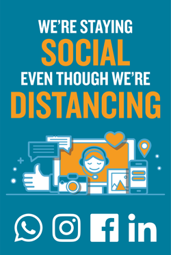 #CV962-we're staying social