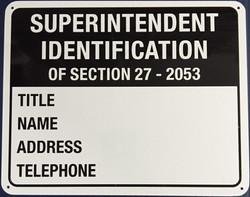 #1098 10X8 .020 Alum.-Super ID Large