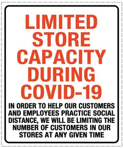 CV920  LIMITED STORE CAPACITY IN ENGLISH
