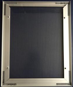 #601 8.5x11 Alum.-Inspection Frame-Back.