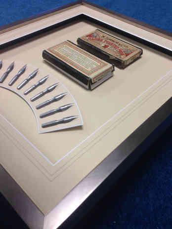 pen bid framed