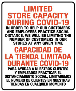 CV921 LIMITED STORE CAPACITY IN ENGLISH