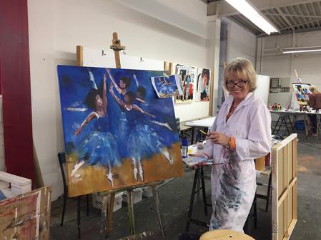 Kurse an der Freien Kunstakademie Gerlingen Impressionen