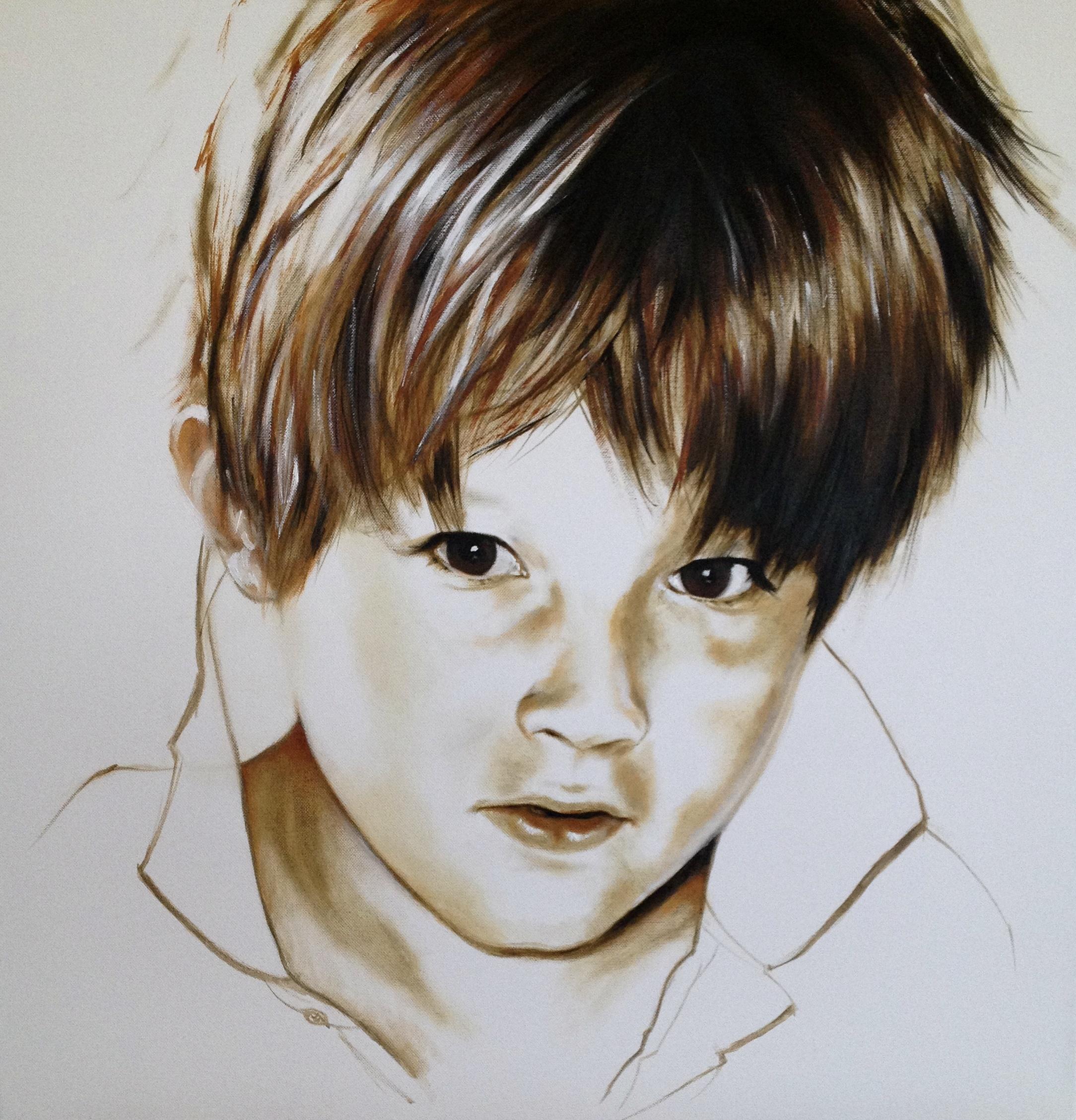 Porträt eines Jungen III, 2014