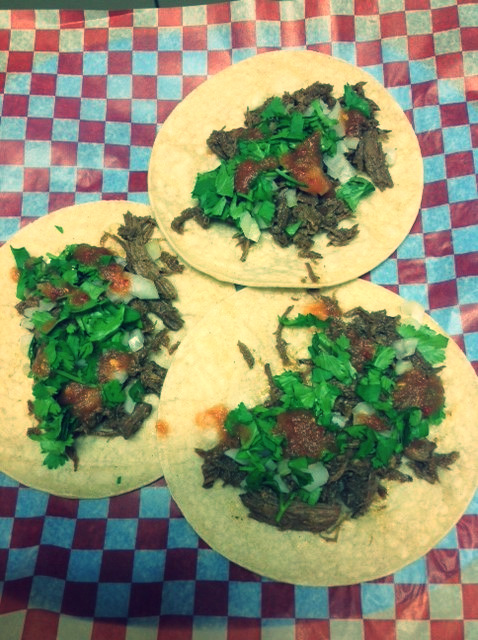 Barbacoa Tacos (Shredded Beef)