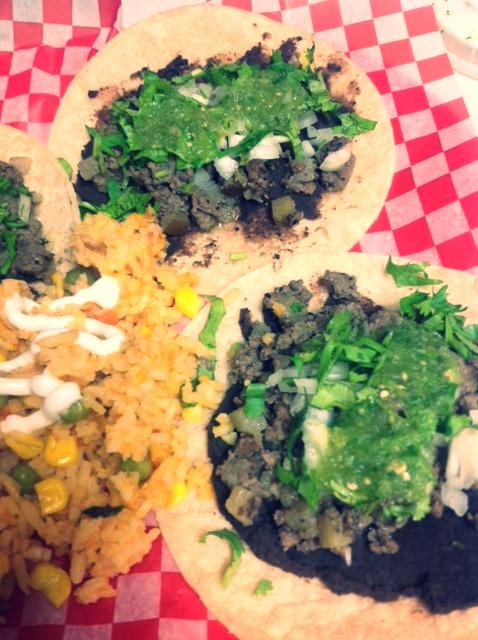 Bison Tacos