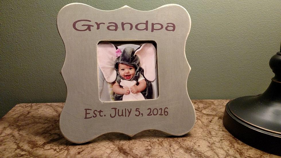 Grandpa frame