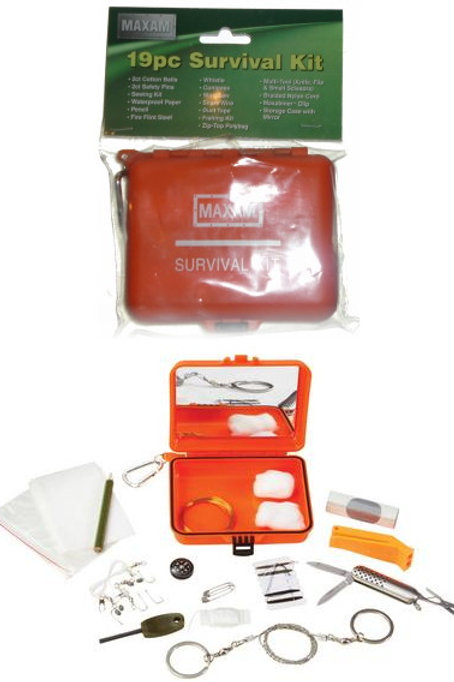 19 PC Emergency Survival Kit