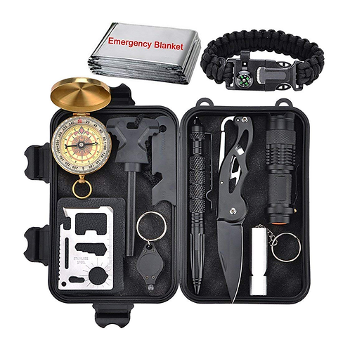 Professional Tactical Survival Gear Kit