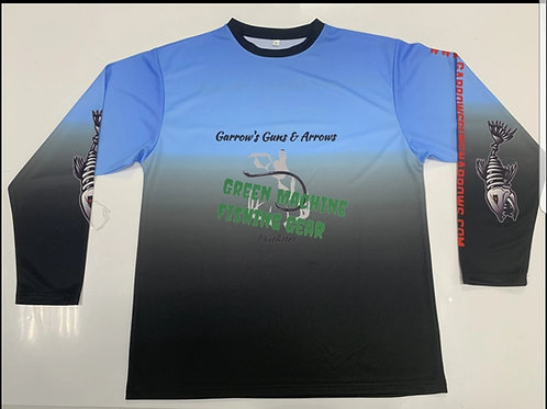 Green Machine Tournament Fishing Shirt