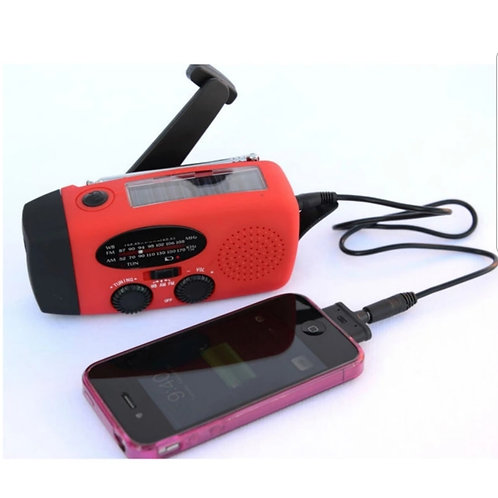 Emergeny Crank Radio / Flashlight NOAA
