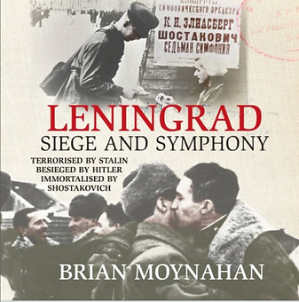 Actor Jamie Parker narrates audiobook of Leningrad: Siege and Symphony by Brian Moynahan