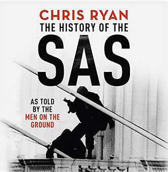 Actor Jamie Parker narrates the audiobook of The History Of The SAS by Chris Ryan